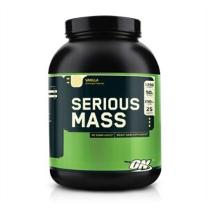 OPTIMUM NUTRITION SERIOUS MASS – VANILLA 6 LBS.