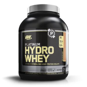 OPTIMUM NUTRITION PLATINUM HYDROWHEY – RED VELVET CAKE 4 LB
