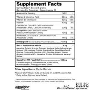 OPTIMUM NUTRITION PLATINUM PRE-WORKOUT – TWISTED APPLE 30 SERVINGS
