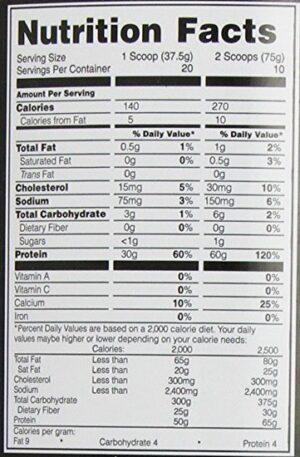 OPTIMUM NUTRITION PRO COMPLEX – CREAMY VANILLA 1.68 LBS