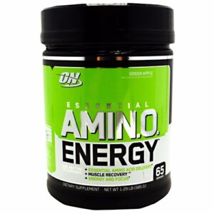 OPTIMUM NUTRITION ESSENTIAL AMINO ENERGY – GREEN APPLE 65 SERVINGS