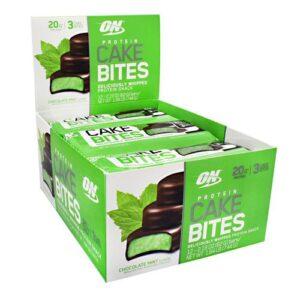 OPTIMUM NUTRITION CAKE BITES – CHOCOLATE MINT 12 EA