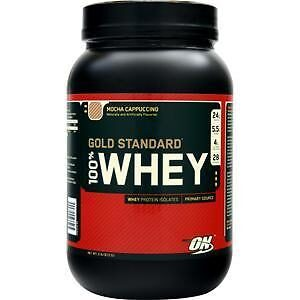 OPTIMUM NUTRITION GOLD STANDARD 100% WHEY – MOCHA CAPPUCCINO 2 LBS