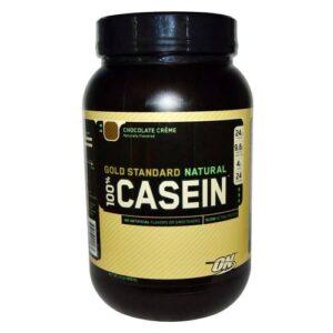 OPTIMUM NUTRITION GOLD STANDARD NATURAL 100% CASEIN – CHOCOLATE CREME 2 LBS