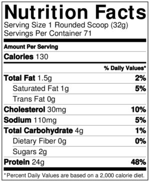 OPTIMUM NUTRITION GOLD STANDARD NATURAL 100% WHEY – STRAWBERRY 5 LBS