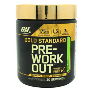 OPTIMUM NUTRITION GOLD STANDARD PRE-WORKOUT – GREEN APPLE 30 EA