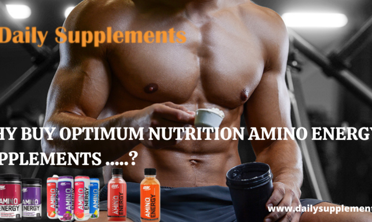 OPTIMUM NUTRITION AMINO ENERGY SUPPLEMENTS